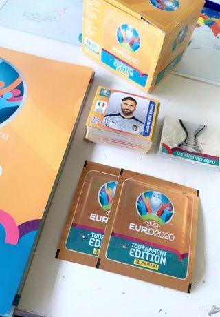 Troca/venda cromos panini Euro 2020 TE