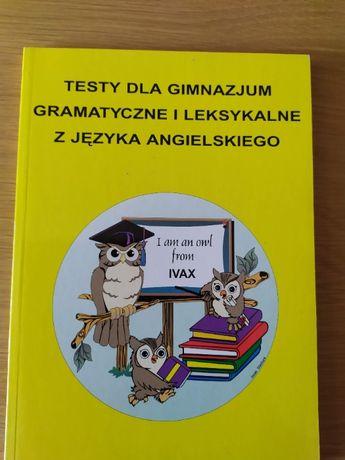 Angielski Testy dla gimnazjum gramatyczne i leksykalne Kienzler