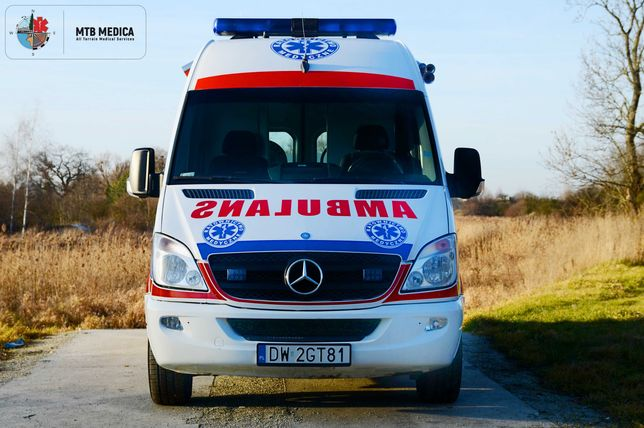 Transport medyczny/ sanitarny COVID - Ambulans karetka 24/7