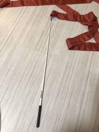 Палочка Amaya с лентой для художественной гимнастики