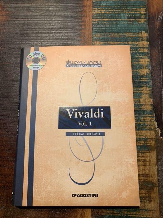 Vivaldi muzyka klasyczna DeAgostini 10 płyt Wronowice - image 1