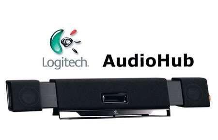 Sistema de Colunas 2.1 Logitech Audio Hub