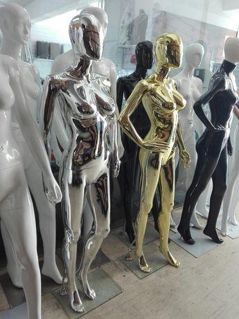 Manequins de Adulto em Dourado ou Prateado (NOVOS)