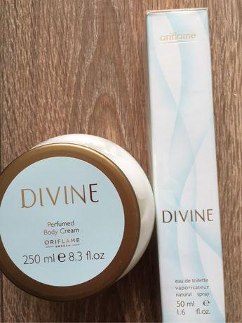 Divine  zestaw/ woda toaletwa + balsam/