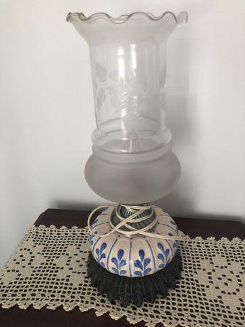 Candeeiro mesa cabeceira - Porcelana / vintage