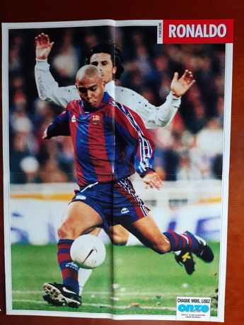 Póster Ronaldo - Barcelona