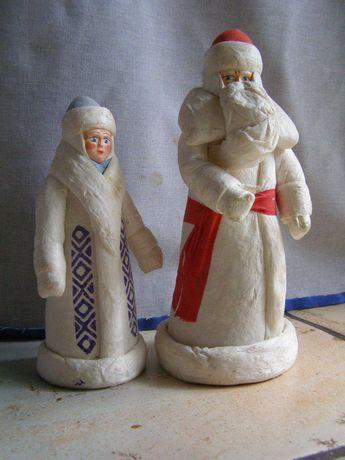 Дед Мороз и Снегурочка .СССР. 60-70-е.