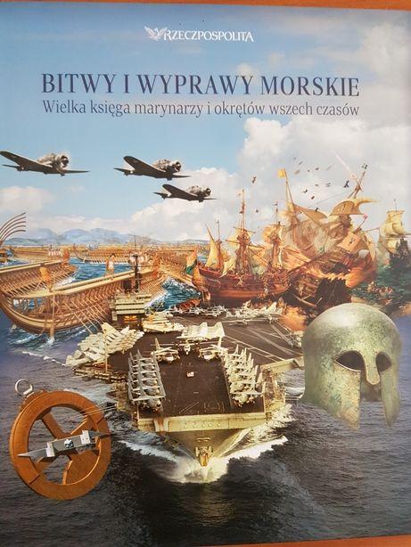 Bitwy i wyprawy morskie - 5 zeszytów