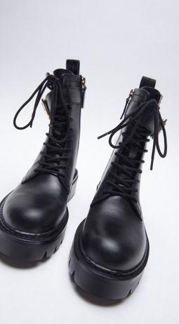 Крутые ботинки, ботінки zara, берцы zara