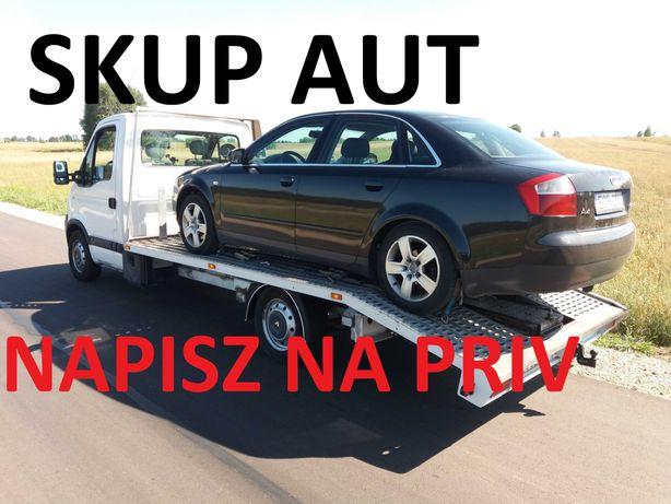 Skup Aut- Zakupie każde Audi A3 - A4- A6- A5 -Q5 , Q7 DO 40 TYS ZL