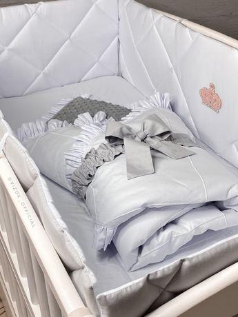 Комплект в дитяче ліжечко