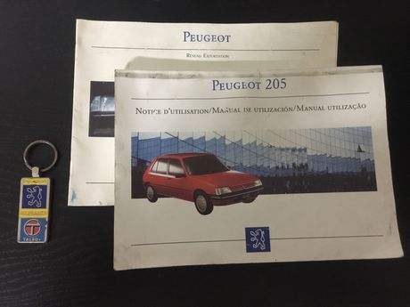 Manual de utilizador peugeot 205 GTI e outros