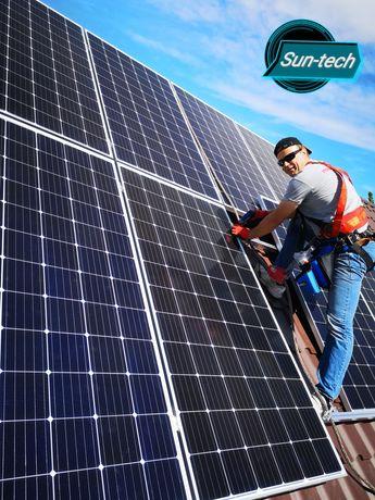 Panele fotowoltaiczne 5KW, Fotowoltaika, Panele słoneczne