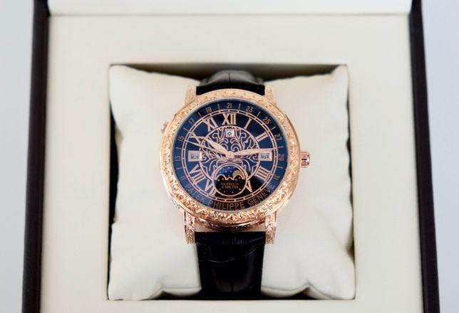 Patek Philippe Sky Moon Tourbillon gold мужские наручные часы