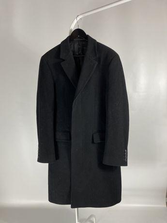 Шерстяное пальто hugo boss