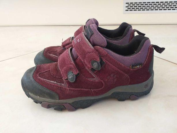 Buty skórzane jack wolfskin dla dziewczynki r 34