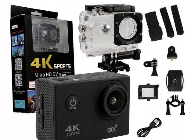 KAMERA SPORTOWA 4K Ultra HD WIFI wodoodporna