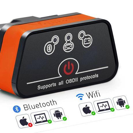 iCar 2 vgate Bluetooth ou Wifi OBD2 adaptador carly