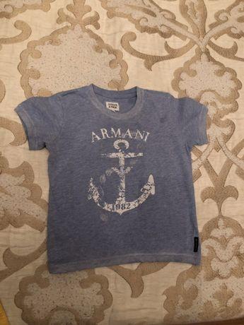 Футболка для мальчика 4 года Armani Junior