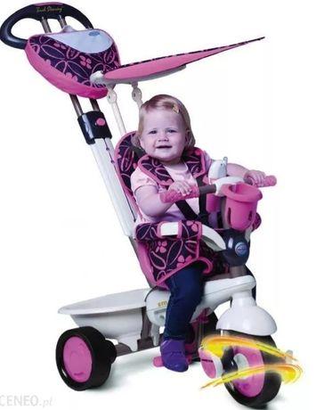 Rowerek trojkolowy Smart trike 4w1 dream touch steering różowy