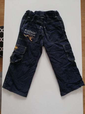 Spodnie na 122