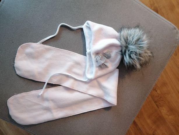 Komplet czapka szalik r 38