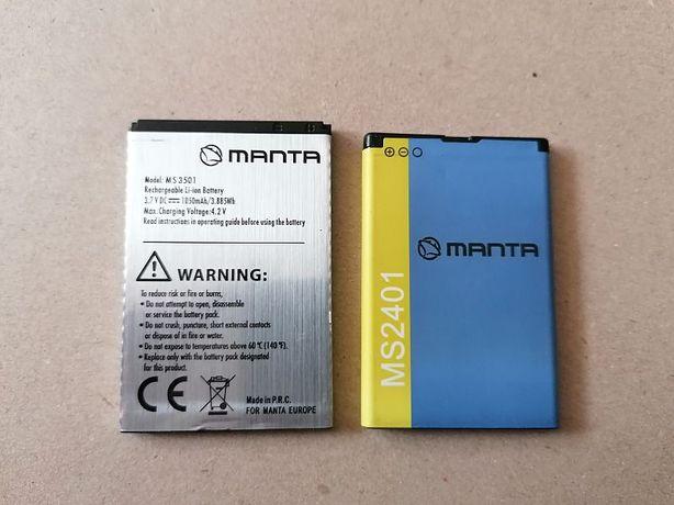 BATERIE nowe do telefonów MANTA