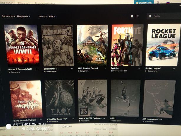 Продам аккаунт Epic Games