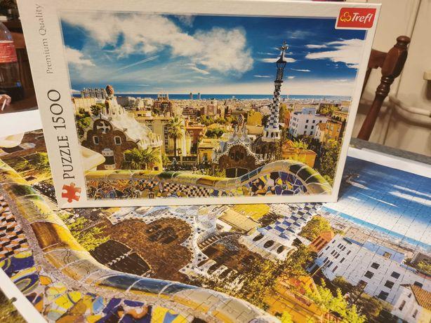 Puzzle 1500 elementów trefl Barcelona