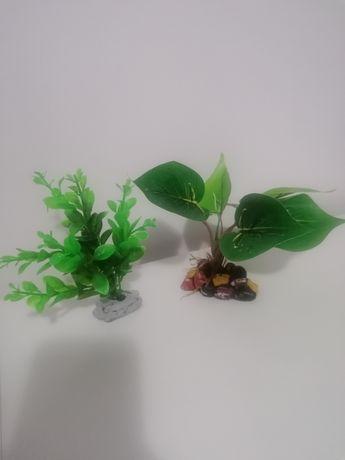 Sztuczne roślinki akwariowe