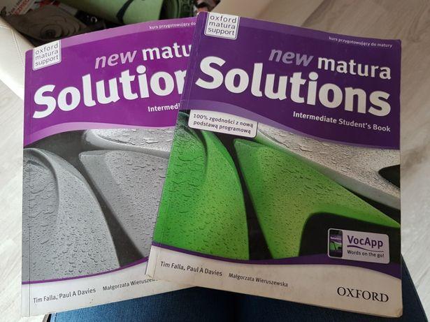 """Książka """"New matura Solutions"""""""