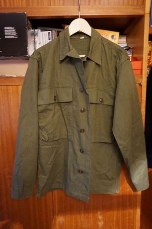 II WOJNA ŚWIATOWA - oryginalna bluza HBT - US ARMY rozmiar 36 R z 1944