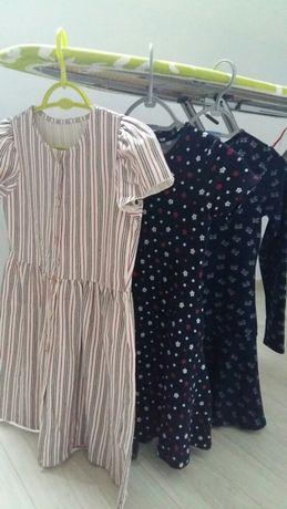 Sukienki reserved i C&A dziewczynka roz 140