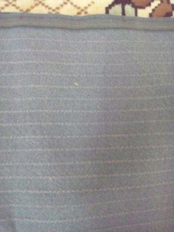 Ткань светло-серая с светлой полоской