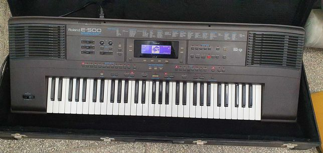 KEYBOARD ROLAND E-500 + TWARDY CASE od Loombard Jarocin śródmiejska 31