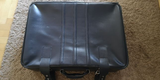 Duża torba walizka podróżna na kółkach z PRL
