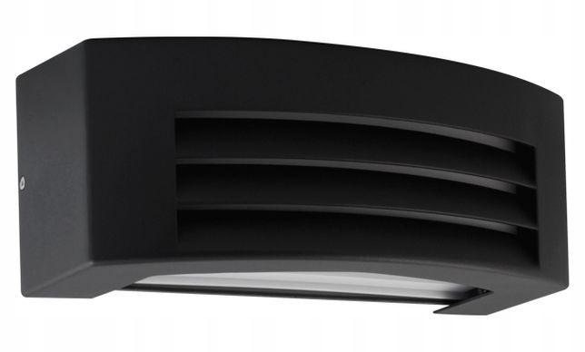 KINKIET Lampa elewacyjna zew czarna KE016