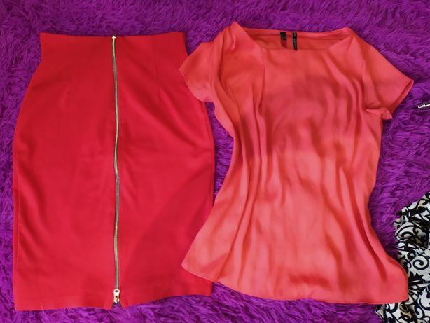 Вещи пакет платье, юбка, кофта