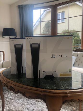 Nowa konsola Sony Ps5 z napędem