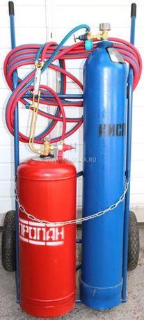 Аренда - Прокат. Газовый резак - ПОСТ для резки металла. АВТОГЕН -