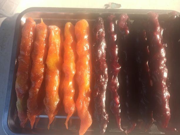 Чурчхела абрикос и юшта.