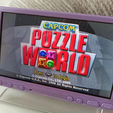 CAPCOM Puzzle World gra na konsolę PSP PlayStation Portable retro gry