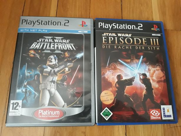 Gry star wars ps2 playstation 2