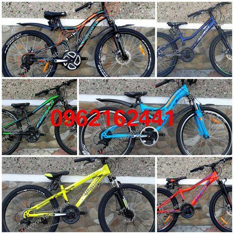 РІЗНІ МОДЕЛІ велосипед алюміній підлітковий колеса 24 - 26 на шімано