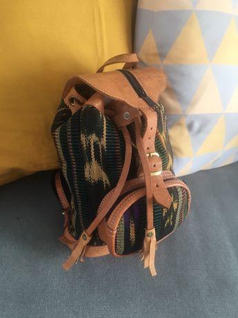 Plecaczek, plecak nowy, styl boho