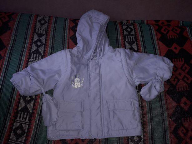 Комбинезон раздельный штаны + куртка р. 9 месяцев