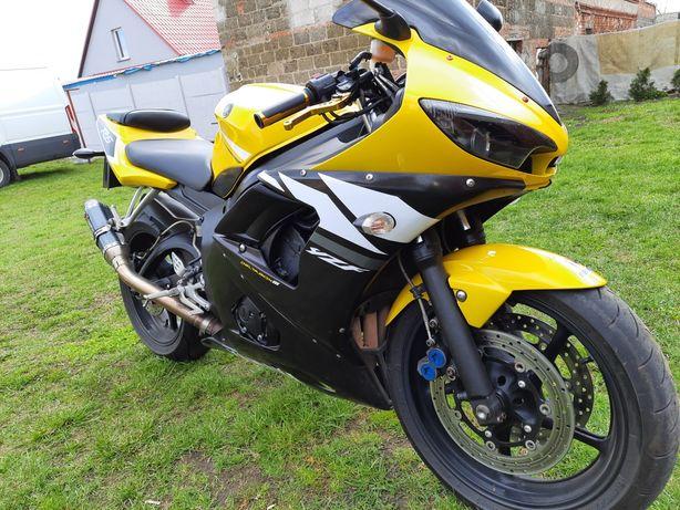 Yamaha r6 rj 05 2006r