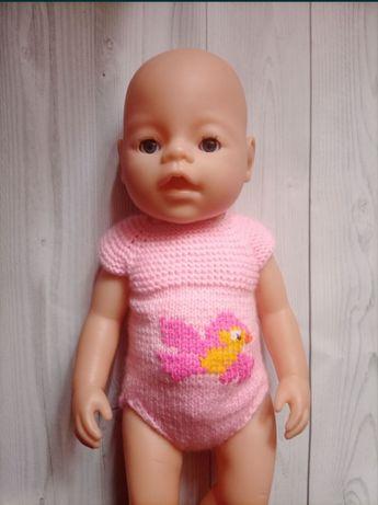 Одежда для беби бона.Одежда для кукол.Бодик.Беби борн.baby born