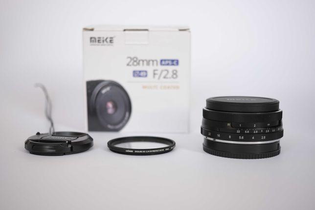 Meike 28mm F/2.8 para Fujifilm X-mount