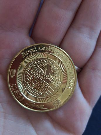 Монеты казино royale Caribbean